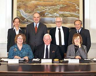 Earl A. Powell III - Image: Members of the Commission of Fine Arts (U.S.) February 2009