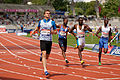 Men 100 m French Athletics Championships 2013 t153315.jpg