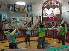 Men Working Out at Zurkhaneh (House of Strength) - Yazd - Central Iran.jpg