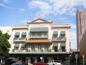 Menger Hotel - Another view of the Menger Hotel (2012)