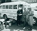 Mennonite Disaster Service group working the 1965 Newton, Kansas, flood (8051253611).jpg