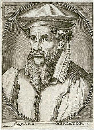 Gerardus Mercator - Image: Mercator