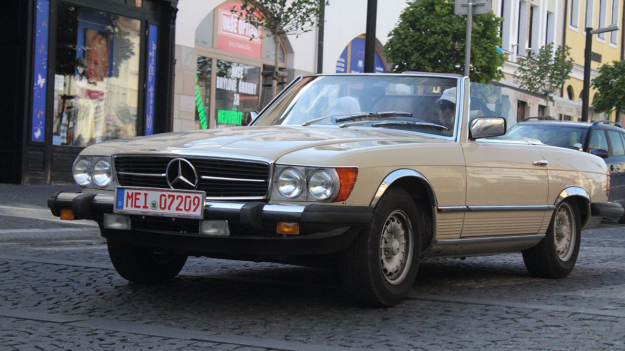 File mercedes benz 380 sl 2013 oldtimer bohemia rally jpg for Rally mercedes benz
