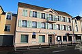 Mesures Vigipirate devant la poste de Saint-Remy-les-Chevreuse le 14 janvier 2015 - 1.jpg
