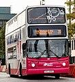Metro (Belfast) bus 2890 (EEZ 2890) 2005 Volvo B7TL Alexander Dennis ALX400, 6 October 2009.jpg