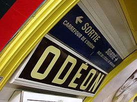 Metro de Paris - Ligne 4 - Odeon 03.jpg