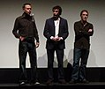 Michael Winterbottom, Steve Coogan, and Rob Brydon-14Sept2005.jpg