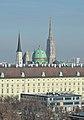 Michaelerkirche, Michaelertor, Stephansdom, Vienna 02.jpg