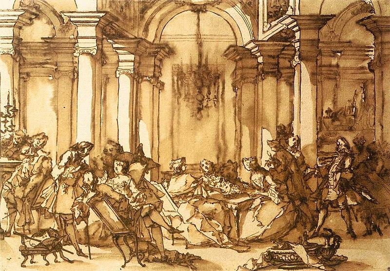 The Visitation, Michel-François Dandré-Bardon   Mia