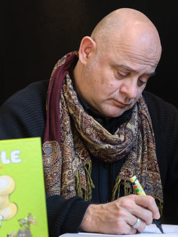Michel Rodrigue BD Angouleme 2013 crop.jpg