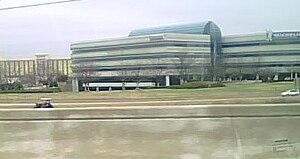 Interstate 85 in South Carolina - Image: Michelin NA building