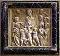 Michelozzo, frammenti del monumento di bartolomeo aragazzi, m. 1435, 03 madonna benedice il defunto.jpg