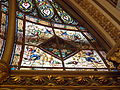 Middle Street Synagogue, Brighton (May 2013) - Stained Glass in Dome (1).jpg