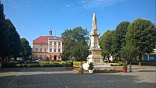 Mieszkowice Place in West Pomeranian, Poland