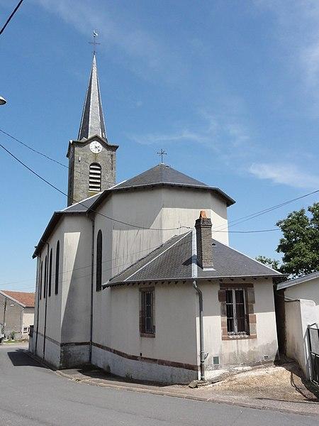 Mignéville (M-et-M) église