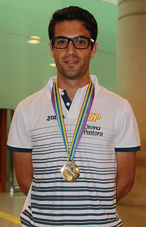 Miguel Ángel López (racewalker) - Image: Miguel Ángel López Nicolás
