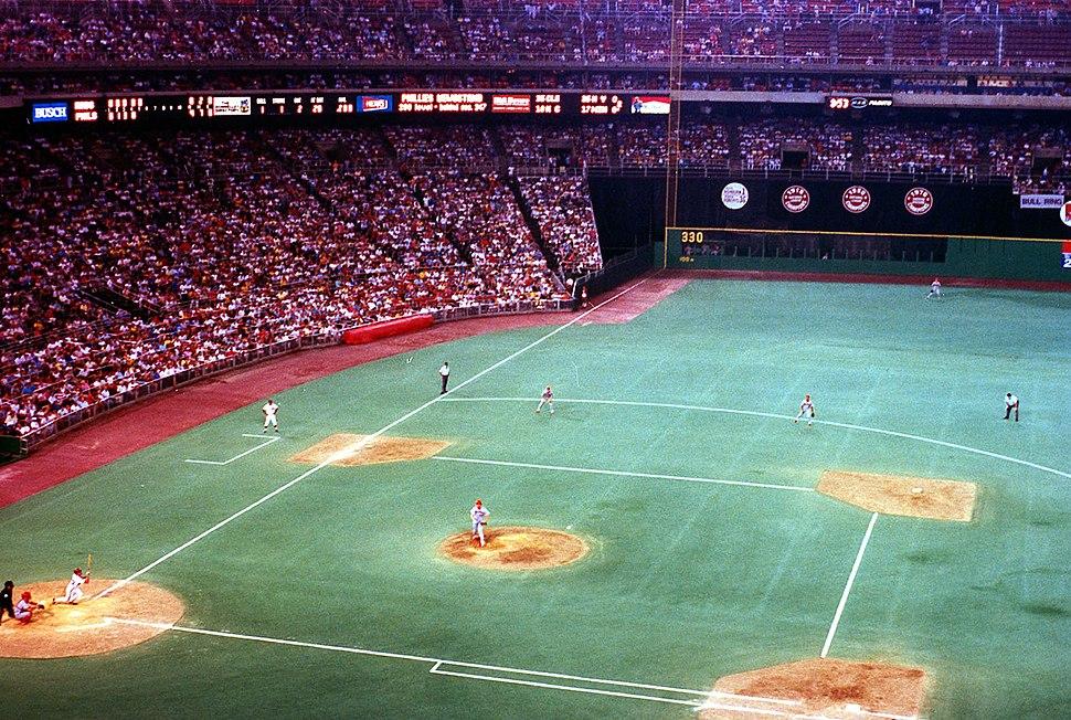 Mike Schmidt HR vs. Cincinnati Reds at Veteran's Stadium July 20, 1987