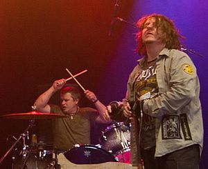 Sludge metal - Joey Lacaze and Mike Williams, founding members of Eyehategod, performing at Roskilde Festival 2011