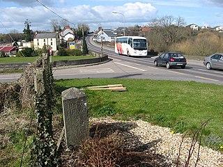 Julianstown Village in Leinster, Ireland