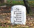 Milestone in Southampton - geograph.org.uk - 620968.jpg