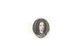 Miniatyrporträtt av man i svart allongeperuk, vit lindhalsduk och rustning - Skoklosters slott - 93242.tif
