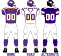 Minnesota Vikings 2011 Uniforms.png
