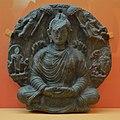 Miracle of Sravasti - Schist - ca 2nd Century CE - Gandhara - Near Kabul - ACCN K1-A23220 - Indian Museum - Kolkata 2016-03-06 1524.JPG