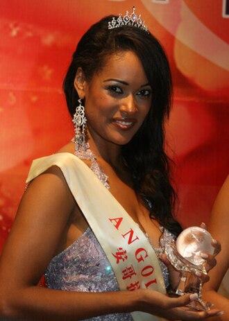 Miss Angola - Micaela Reis, Miss Angola 2006