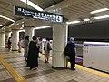 Mitsukoshimae Station - platforms and platform doors - July 26 2020 16 06 25 107000.jpeg