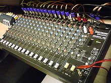Wondrous Mixing Console Wikipedia Wiring Cloud Hisonuggs Outletorg