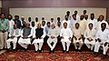 Mohd. Hamid Ansari in a group photo during his visit at the Manoharbhai Patel Institute of Engineering & Technology, at Gondia in Maharashtra. The Governor of Maharashtra.jpg