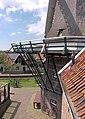 Molen De Traanroeier, Texel, stelling.jpg