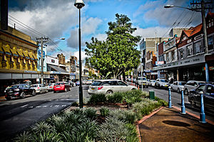 Lismore, New South Wales - Molesworth Street, Lismore