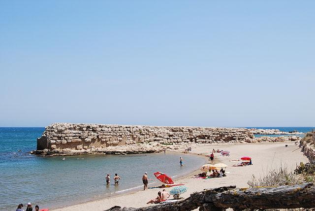 Muelle griego de Ampurias o Emporion