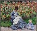 Monet - Camille Monet and a Child in the Artist's Garden in Argenteuil, 1875.jpg