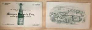 Max Samuel Grifenhagen - Monopole Vineyards Corp. business card and photo