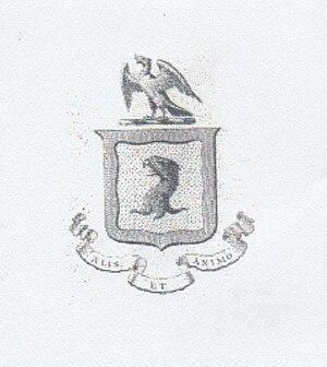 Monro of Fyrish - Monro of Fyrish coat of arms