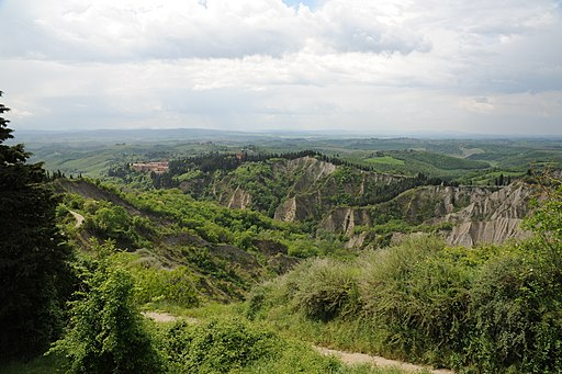 Gli splendidi dintorni di Monte Olivetto Maggiore e Crete di Asciano