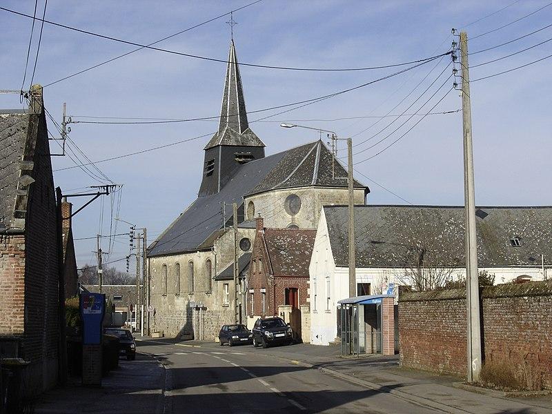 Eglise de Montigny-en-Cambrésis - Church of Montigny-en-Cambrésis