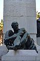 Monument al Marqués de Campo de València, al·legoria del ferrocarril.JPG