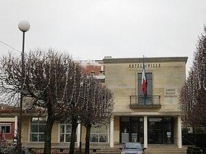 Morangis, Essonne - The town hall in Morangis