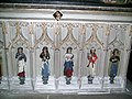Moreton Corbet church Corbet Vernon daughters 02.JPG