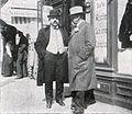 Moritz Harmelin, Fellhändler in Leipzig, zur Ostermesse (1909).jpg