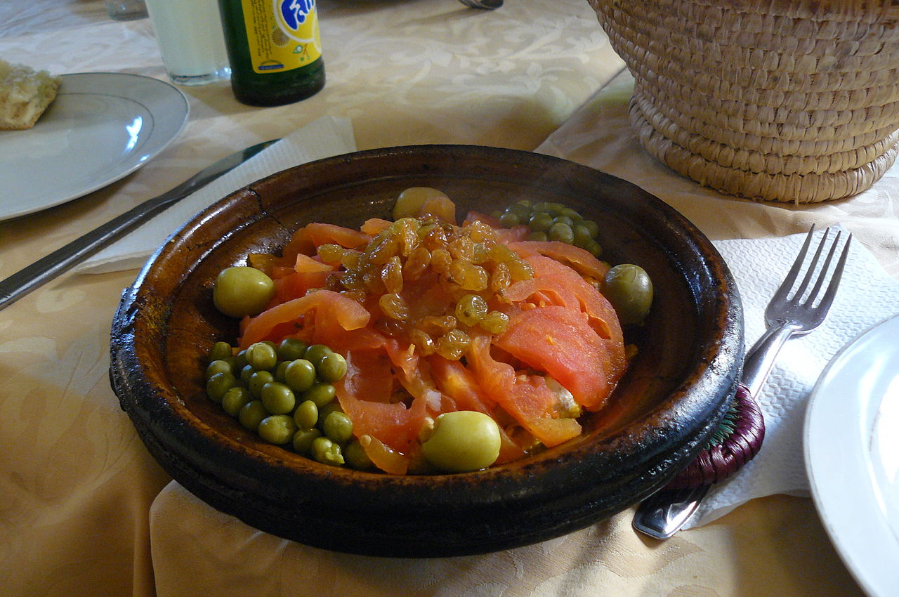 File moroccan food wikimedia commons for Cuisine wikipedia
