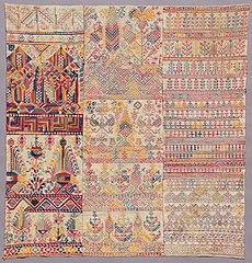 Embroidery sampler (1929.841)