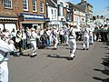 Morris men in The Square - geograph.org.uk - 1250012.jpg