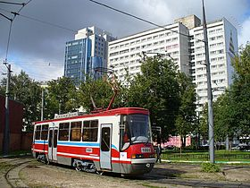 Image illustrative de l'article Tramway de Moscou