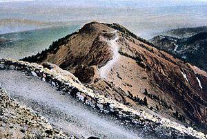 Mount Washburn - Image: Mount Washburn Postcard Haynes