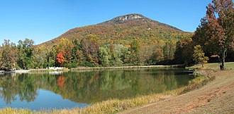 Yonah Mountain - Yonah Mountain from Chambers Lake