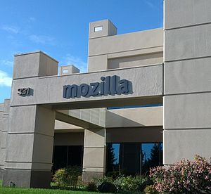 Mozilla Foundation - Entrance to the Mountain View office which is home to both the Mozilla Foundation and the Mozilla Corporation